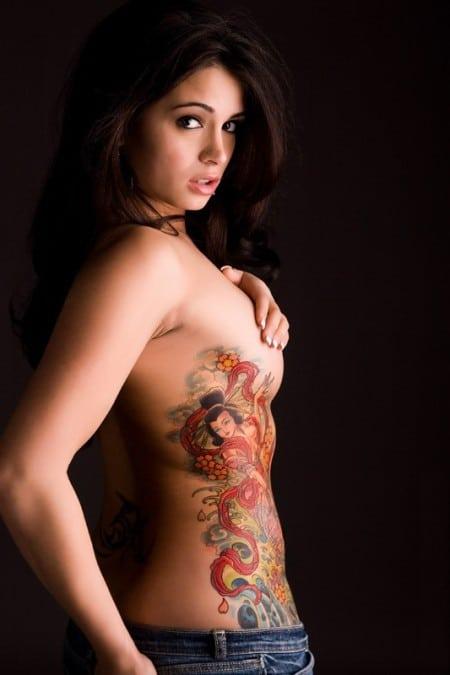 women's tattoo