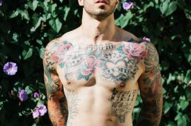 Alex Minsky, US Marine who nearly lost his life becomes underwear model.