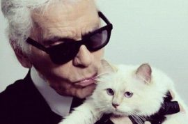 Oh really? Karl Lagerfeld would marry his one year old cat Choupette.