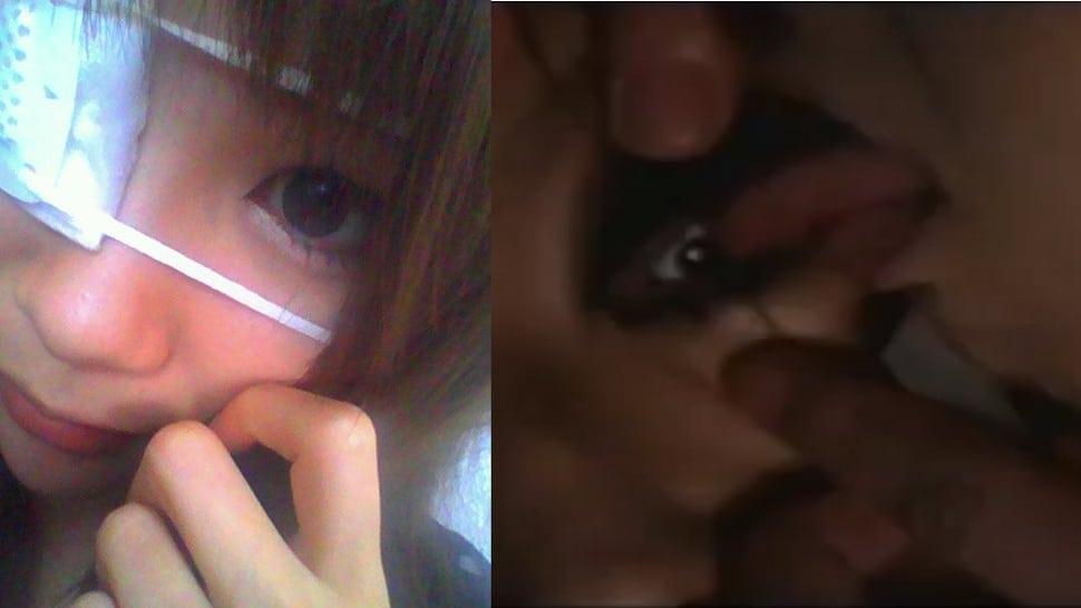 Eye ball licking in Japan