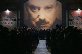 Oh really? Why did sales of George Orwell's 1984 shoot up 7000% this week?