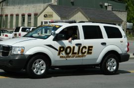 Man arrested for replying with swear words to traffic ticket sues town.