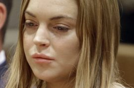 Lindsay Lohan asked to leave Betty Ford Clinic cause she's a nuisance.