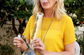 Have you met the Marijuana moms of Beverly Hills? Getting high makes for better parenting?