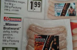 German sausages are now sexist. His and hers sausages cause controversy.