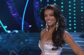 Marissa Powell, Miss Utah USA gives worst answer ever.