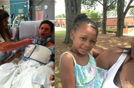 Michael Patterson uninusured dad paralyzed after saving drowning girl to receive help.