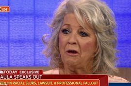 Paula Deen's apology means shit. Dropped yet again…