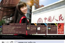 Chinese student Kang Kang's graduation picture causes university website to crash.
