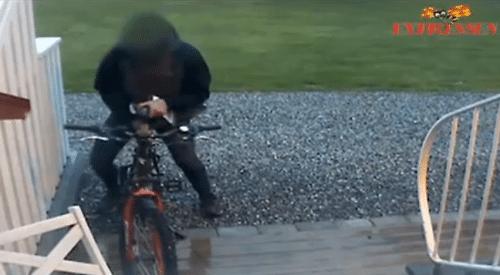 Swedish man who fucks bicycles