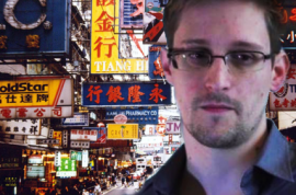 Was he right to speak out? Edward Snowden, former CIA operative, whistle blower now on the run…