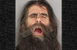 Jeffrey Jones arrested for throwing spear at car.