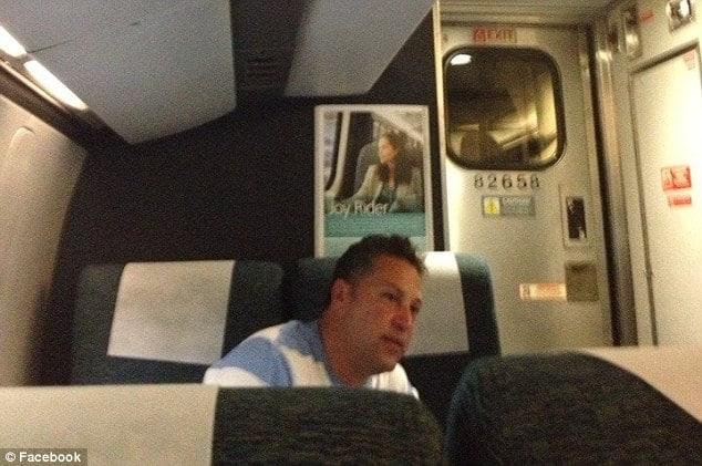 Man who brags about his affairs on Philadelphia train