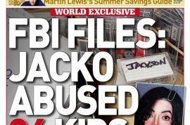 Michael Jackson paid off 24 boys after groping tells FBI report.