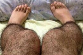 Hairy 'anti pervert stockings' are a fashion must have in China.