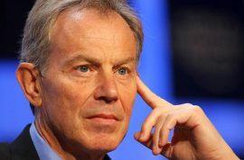 Oh really? Tony Blair insists he didn't have an affair with Wendi Deng.