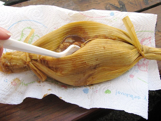 The Tamale Lady