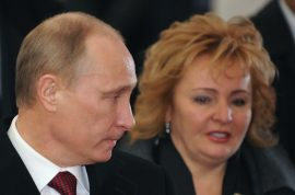 What caused Vladimir Putin and his wife to divorce? Rumors of affair with gymnast…