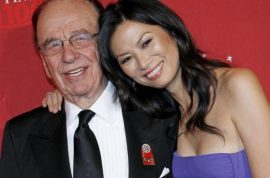 Oh really? Rupert Murdoch is divorcing Wendi Deng.