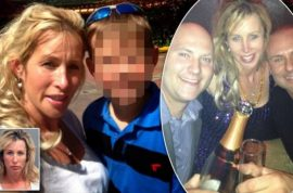 Kimberly Kiernen arrested after locking her 7 year old son so she could party with 26 teens.