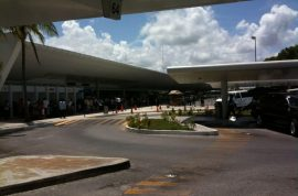 Woman is now living in Cancun airport and cops are desperate to arrest her but haven't yet.