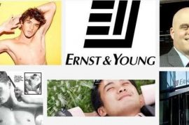 Ernst & Young is also now a sexy boys magazine too…