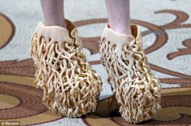 Iris Van Herpen's shoes are to die for.