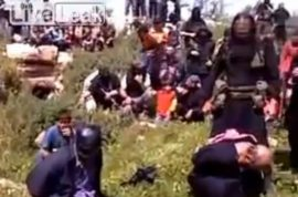 NSFW: Here is a video of a Syrian priest being beheaded in front of a cheering crowd.