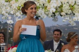 Jennifer Gabrielli gives the best bridesmaid toast ever.
