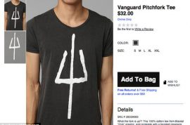 Urban Outfitters t shirt is pulled cause it looks like Chicago gang sign