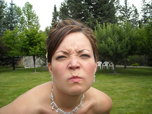 pissed off bride