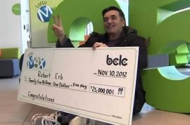 Lotto Winner, Bob Erb Leaves $10,000 Tip for Diner Owner With Sick Daughter