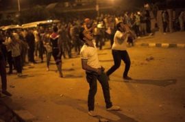 Dutch Journalist raped in Tahir Square during Egypt uprising.