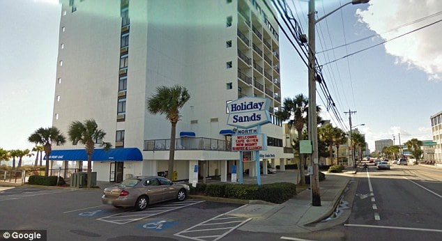 Holiday Sands Motel on Myrtle Beach