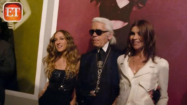 Sarah Jessica Parker, Karl Lagerfeld, Carine Roitfeld