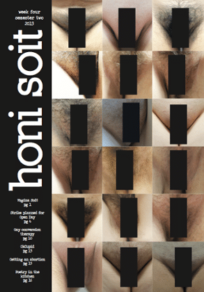 Honi Soit cover