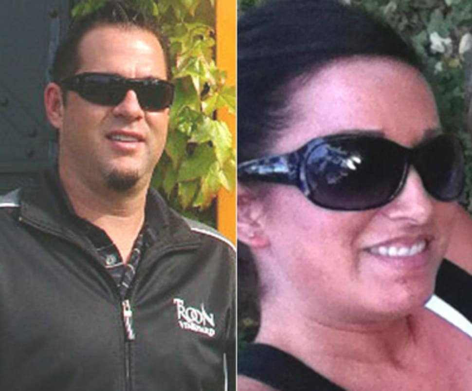 Christopher Martin and Jessica Stroble