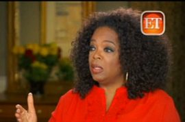 Oprah Winfrey is a liar reckons Swiss sales assistant.