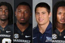 Culture of rape: Four Vanderbilt football players indicted on rape of unconscious woman.