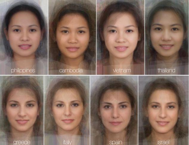 Mrs Average face