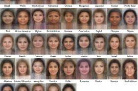 Here are pictures of Mrs Average face from all over the world. But are they accurate?