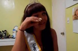 Transgender Homecoming Queen, Cassidy Lynn Campbell claims she's been targeted by bullies in video.
