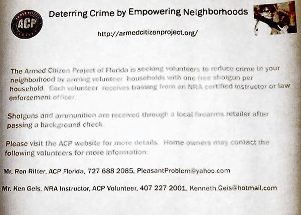 The Armed Citizen Project
