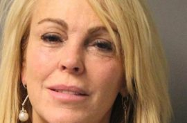 Dina Lohan arrested for drunk driving. Double the legal limit.