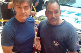 Hero Plumber, David Justino who saved British tourist's life fired.