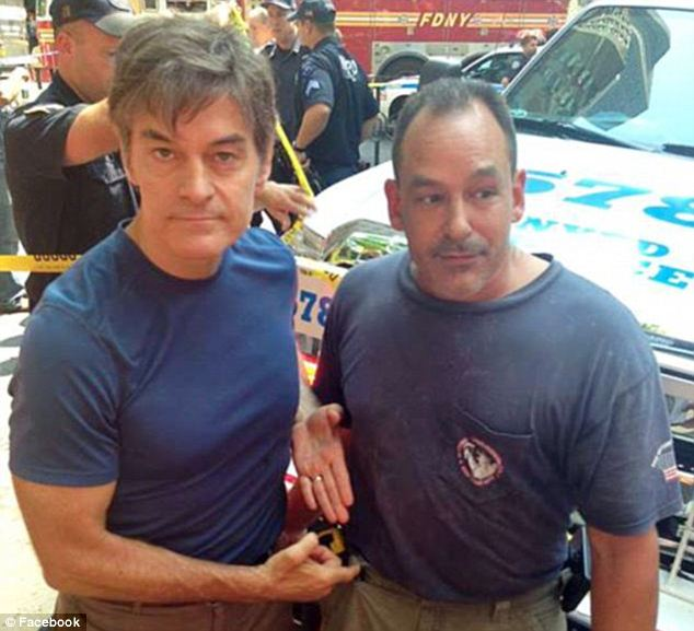 Mehmet Oz and David Justino