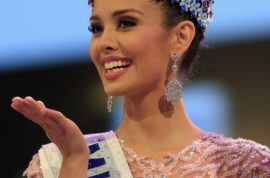 Miss Philippines, Megan Young wins Miss World despite Islamist threats.