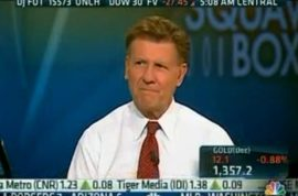 CNBC host Joe Kernen makes racist Indian remarks and a fool of himself.