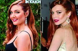 Oh really? Lindsay Lohan half sister, Ashley Horn gets $25 000 in plastic surgery to look just like her.