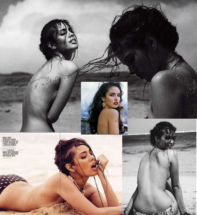 Miss Miss Philippines, Megan Young topless